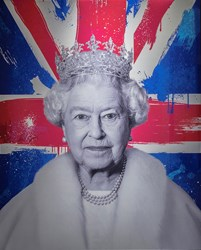 Royal Approval by Nuala Mulligan - Lenticular sized 24x30 inches. Available from Whitewall Galleries
